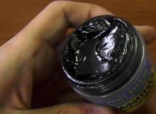 What is greased with graphite lubricant?